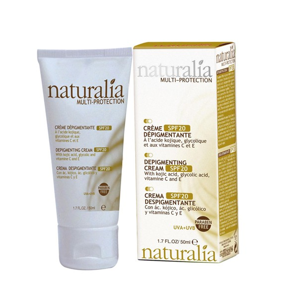 NATURALIA   Crema facial despigmentante 3 x 50 ml. NT52501