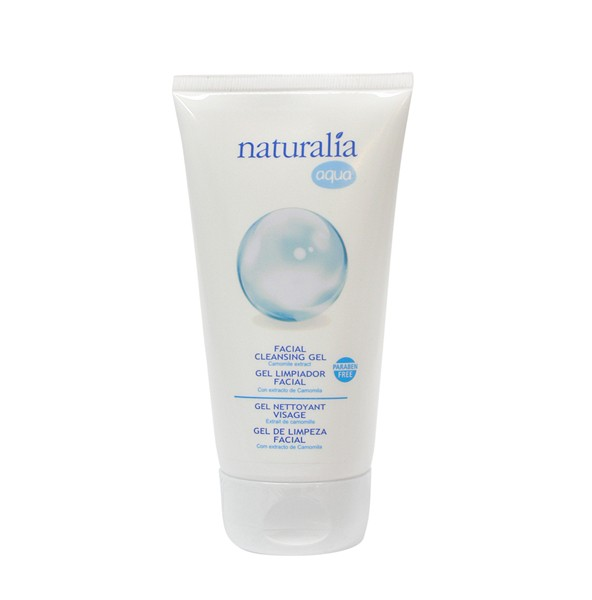 NATURALIA   Gel limpiador facial 5 x 150 ml. NT11601
