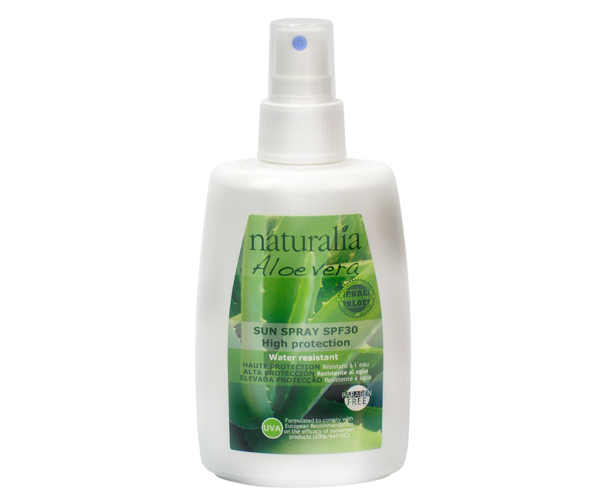 NATURALIA   Spray solar aloe SPF30 10 x 150 ml. NT61501